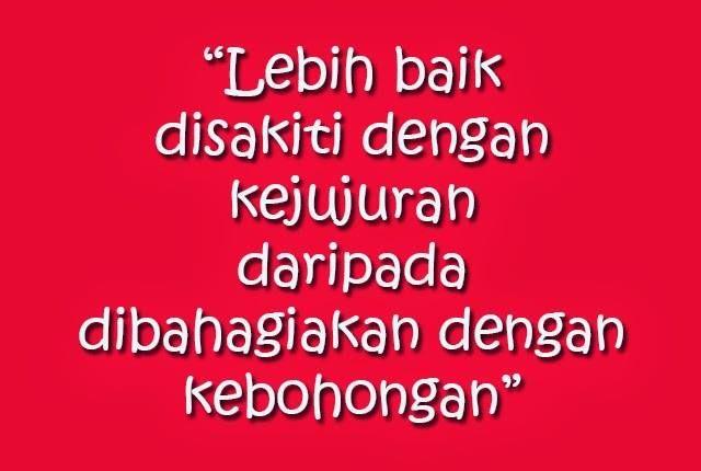 Kejujuran #Jujur #Bohong #Kebohongan_publik #Bahagia