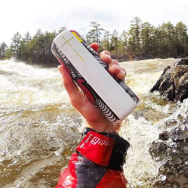 Can drown out even the loudest of rapids. #UEBOOM photo by @joelkowalski   UE Boom is a portable speaker that have great sound quality. Aside from that, the UE Boom is waterproof, that is why you can use it wherever you are, even at the rapids.   To get more updates on Waterproof Portable Speakers, follow Best Buy Portable Speakers (https://www.pinterest.com/bestbuyspeakers/)