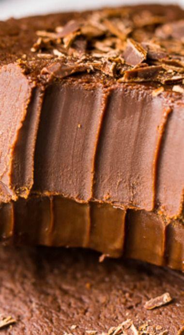 Creamy Kahlua Chocolate Fudge