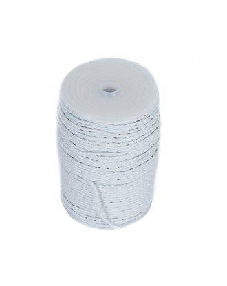 zinkbånd som giver tyngde til gardiner og brudeforhæng