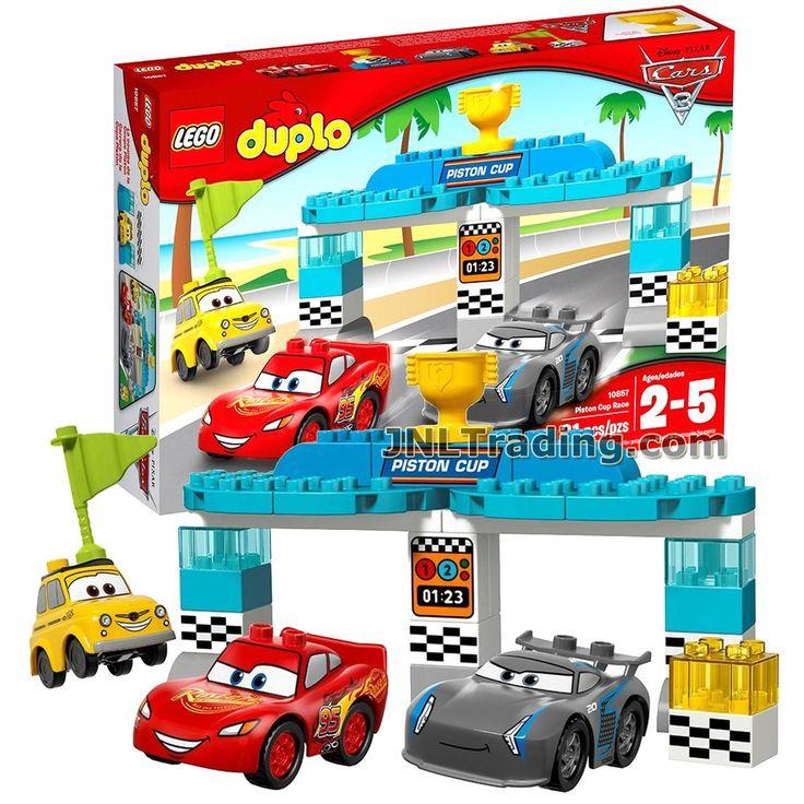 Lego Year 2017 Duplo Disney Pixar Car Series Set 10857