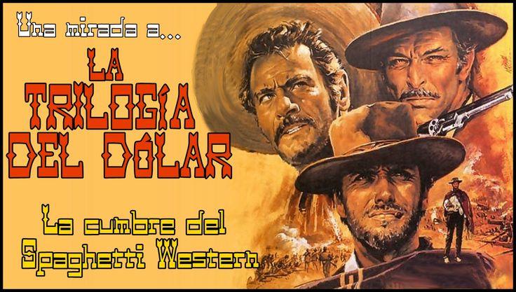 """Análisis de la """"Trilogía del dólar"""". Tres Balazos para Sergio Leone (y el Clint Eastwood más duro) con sus obras maestras: """"Por un puñado de dólares"""", """"La muerte tenía un precio"""" y """"El bueno, el feo y el malo""""... que sentó las bases de uno de los géneros insignia del cine italiano...  http://www.tavernamasti.com/2017/11/una-mirada-la-trilogia-del-dolar-la.html"""