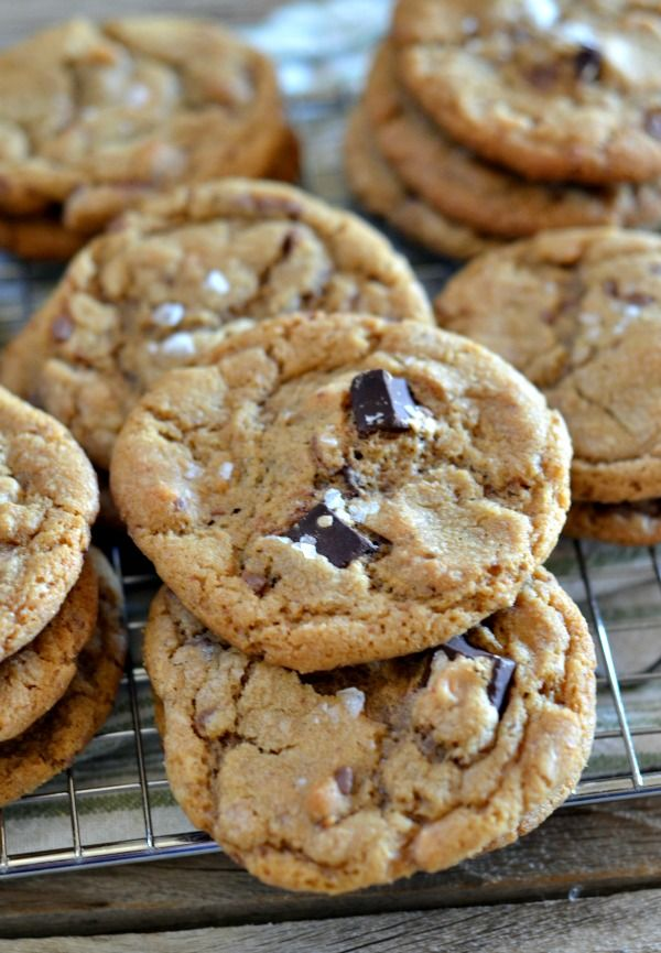 Chocolate chunk cookies, Espresso and Butter on Pinterest
