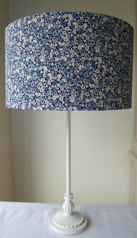 Liberty Tana Lawn Wells Handmade Lampshade 35cm by EvieEccles