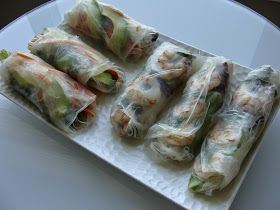 . For the Love of Food, Travel and Wine: Gỏi cuốn.....Rollos de Primavera Vietnamitas