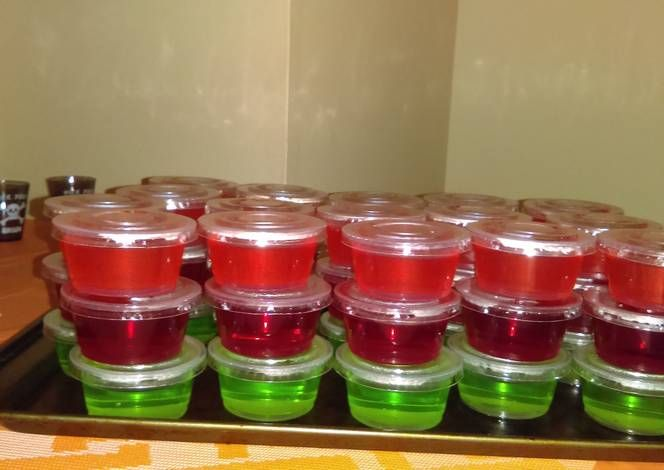 Jolly Rancher Jello Shots Recipe -  I think Jolly Rancher Jello Shots is a good dish to try in your home.