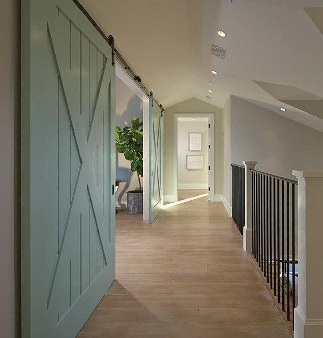 wonderful barn doors paint colors benjamin moore wythe blue home bunch - Barn Doors For Homes