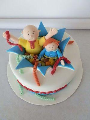 Bolo do tema Ruca http://cakepopsecia.blogspot.pt/