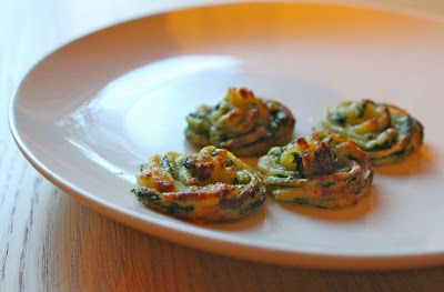mamacook: Spinach and Potato Bites, great for babies and toddlers