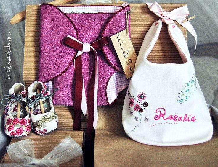 """Canastilla """"Rosalía"""", los regalos especiales..., mucho mejor personalizados :)"""