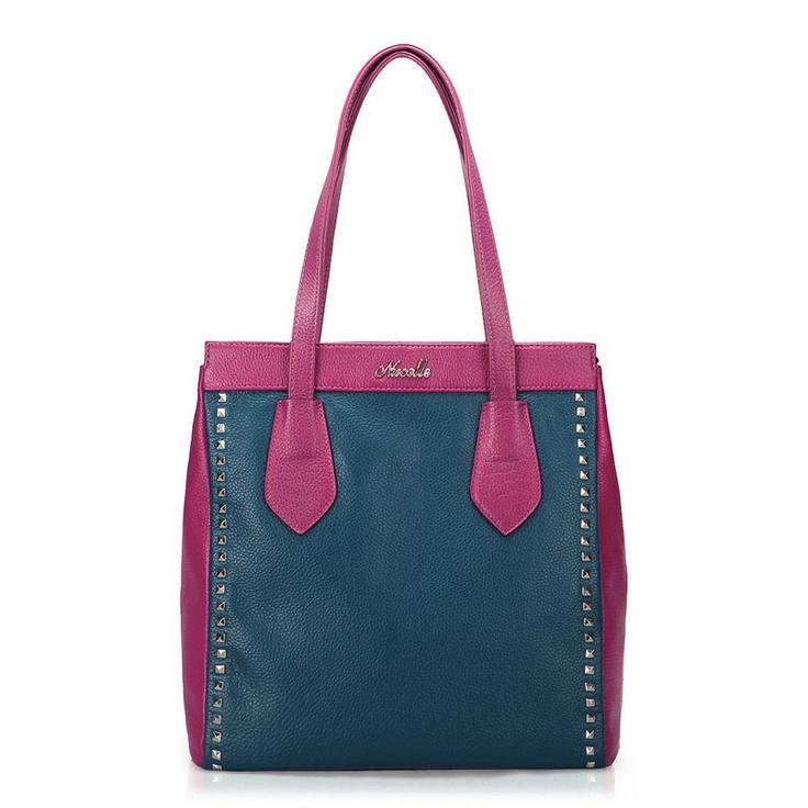Nucelle Contrast Rivets Trim Bag Code: 20127257 - Shoulder - Women's Bags at Clothing.net ($41.00)