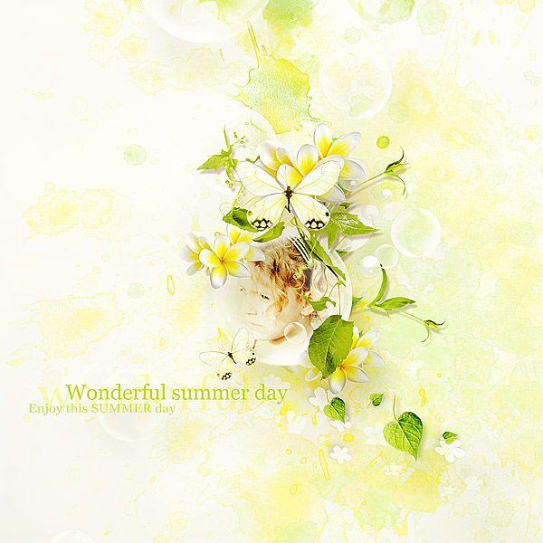 Lemony Freshnes by Lilas Designs @ scrapbookgraphics