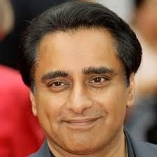 Born: 31st October 1963 ~   Sanjeev Bhaskar, OBE is a British comedian, actor and broadcaster, best known for his work in the BBC Two sketch comedy series Goodness Gracious Me and star of the sitcom The Kumars at No. 42.   Married  Meera Syal  in 2005.