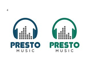 Music production company needs logo Modern, Masculine Logo Design by alkesh thakkar