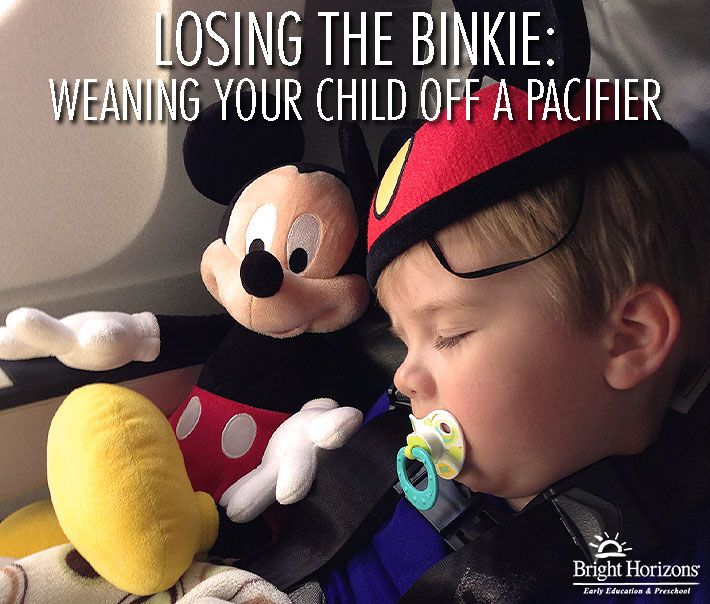 Losing the Binkie: Weaning Your Child Off A Pacifier