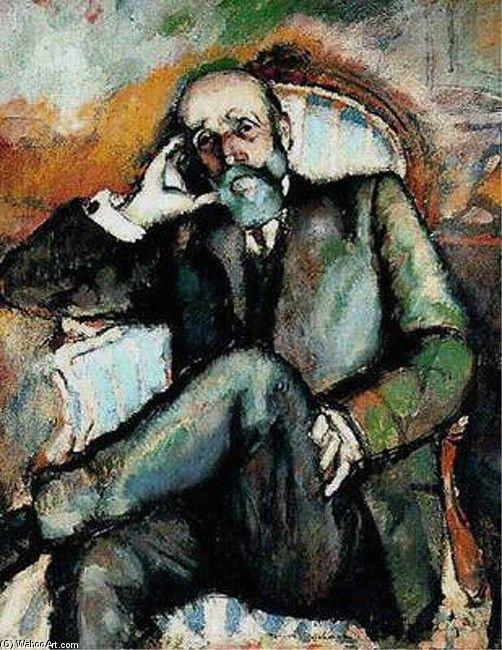 """Father"" Marcel Duchamp.Style: dadaïsme"