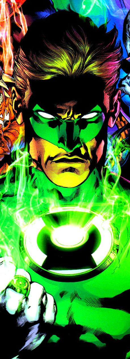 Green Lantern Hal Jordan by Ivan Reis