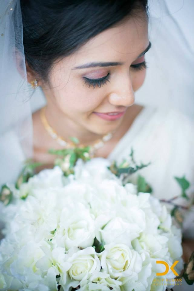 A blushing bride who just used our services