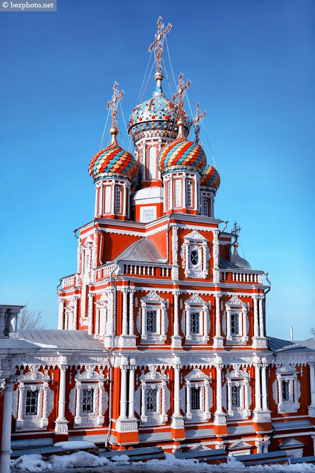 Stroganov Church in Nizhny Novgorod / Строгановская церковь в Нижнем Новгороде