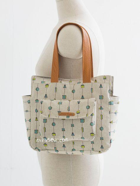 1139 Lola Bag PDF Pattern (2 sizes)