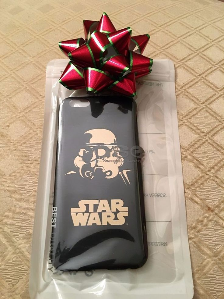 1 Star Wars iPhone6 CLONE TROOPER Phone Case New / Gold Black See Movie in Style #UnbrandedGeneric