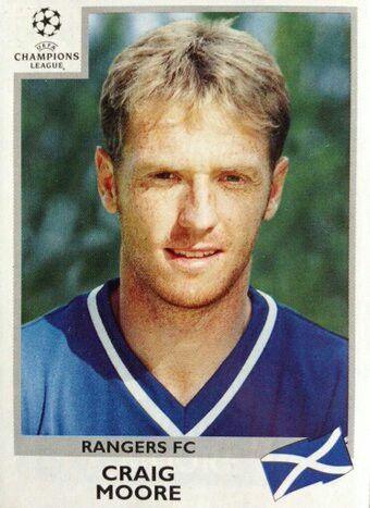 Craig Moore of Rangers in 1999.