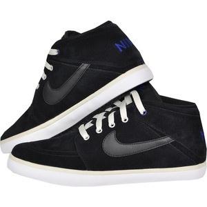 Fall/Winter Nike Suketo Mid Leather 525310-011 Black / Black-Light Bone-Photo Blue   Nike   Mens   2012