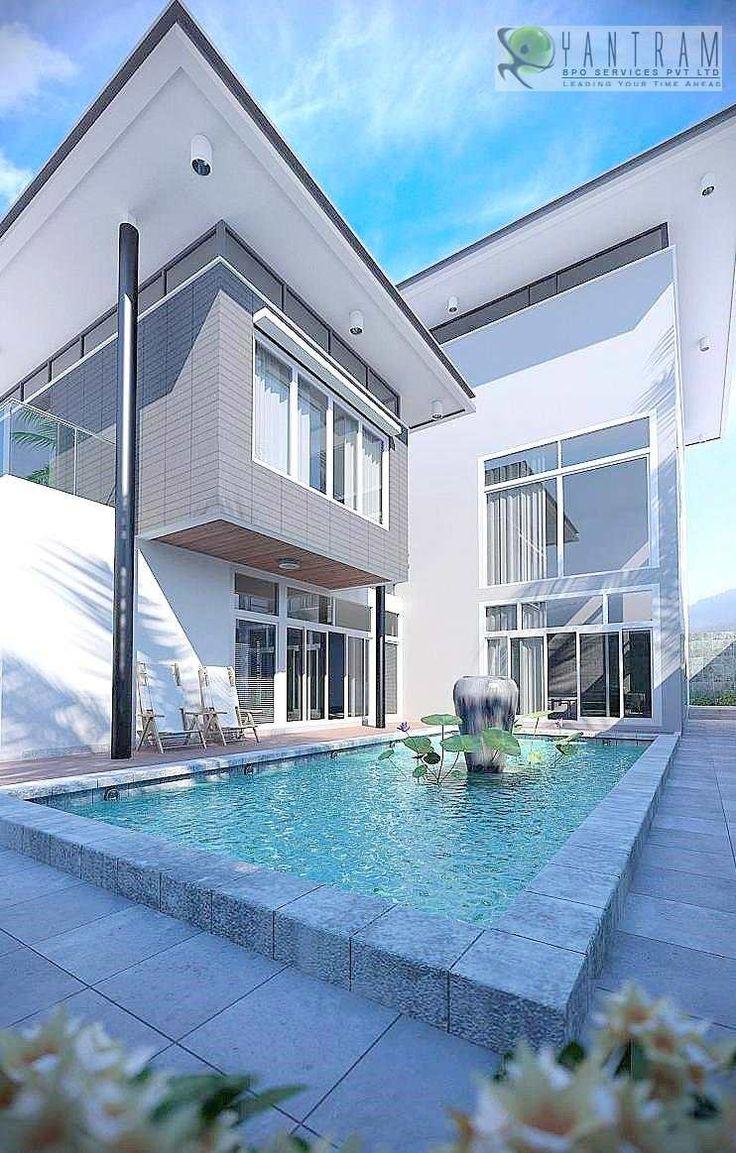 27 best architectural 3d exterior design images on pinterest exterior design exterior for Exterior 3d rendering