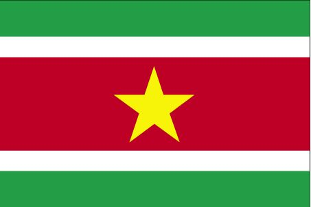 Country Flags: Suriname Flag