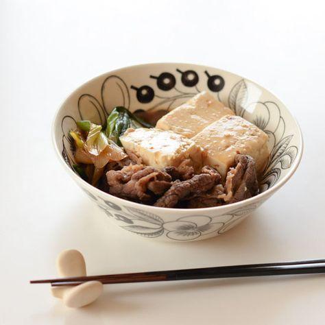 【料理家さんの定番レシピ】たった10分で、味しみもしっかり♪かんたん肉豆腐レシピ – 北欧、暮らしの道具店