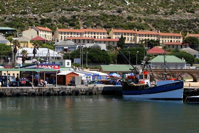 Kalkys, Kalk Bay harbour. Authentic Cape seafood!