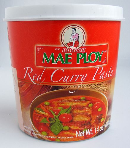 Thaise rode curry van Mae Ploy