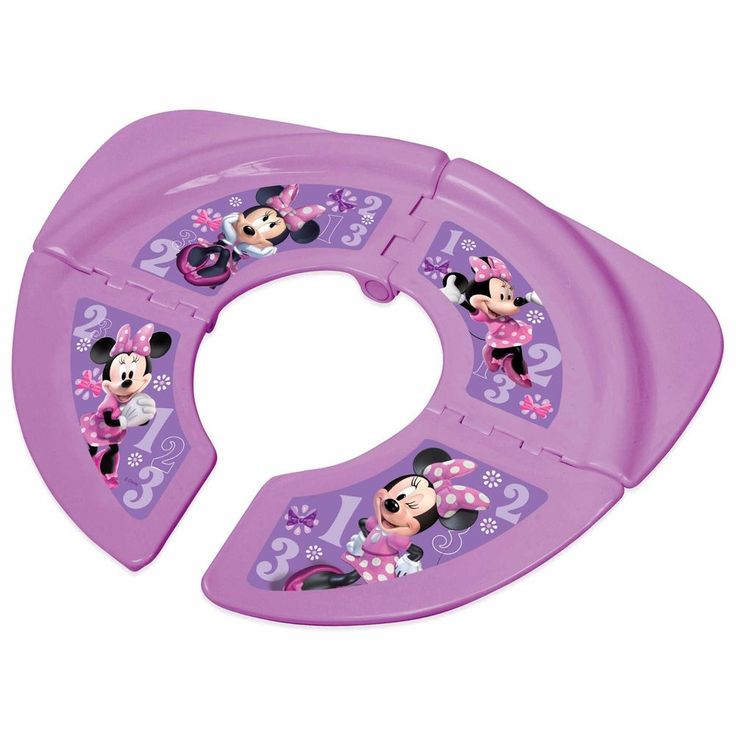 Toddler Travel Potty Seat With Storage Bag Girls Portable