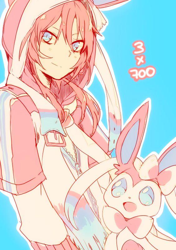 Shiuka (Shiupiku), Inazuma Eleven GO, Pokémon, Kirino Ranmaru, Sylveon, Hood