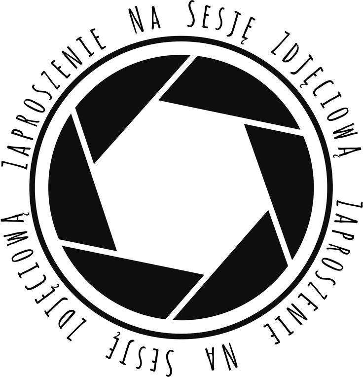 ProjectGallias:#projectgallias: camera lens graphic, camera shutter, digi, scrapbooking stamps, zaproszenie sesja zdjęciowa, stempel