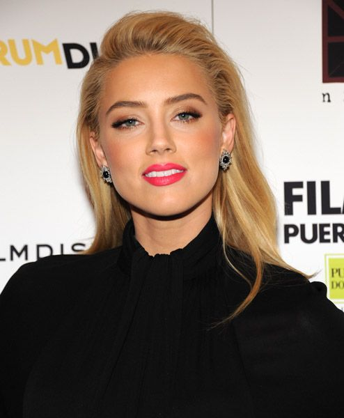 amber heard - The Rum Diary premiere  October, 2011 New York