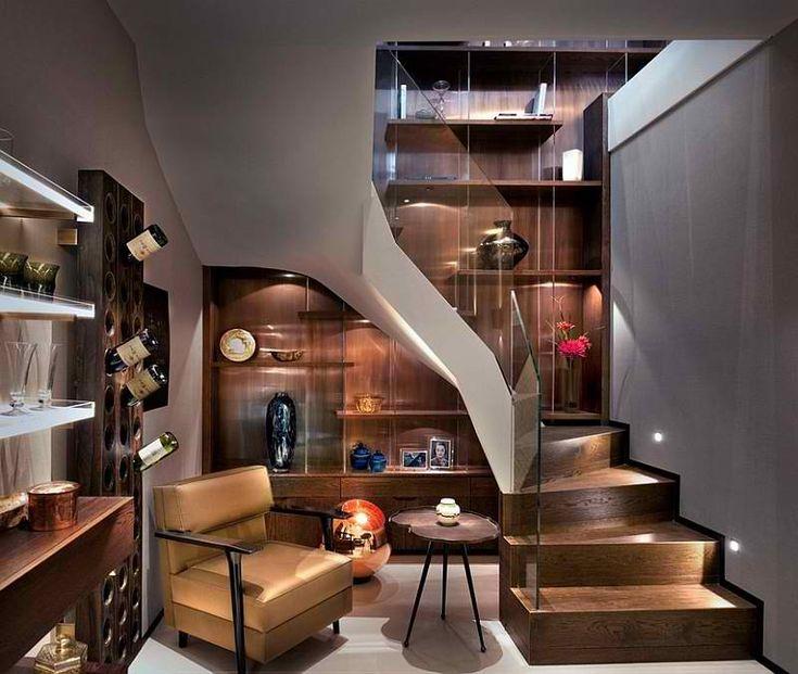 Kleine Treppe Design Zu Einem Keller Schlafzimmer
