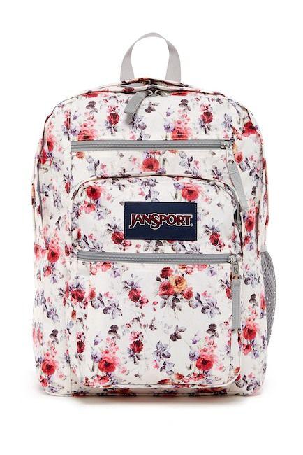Image of JANSPORT Big Student Floral Backpack bbb22c03d769c