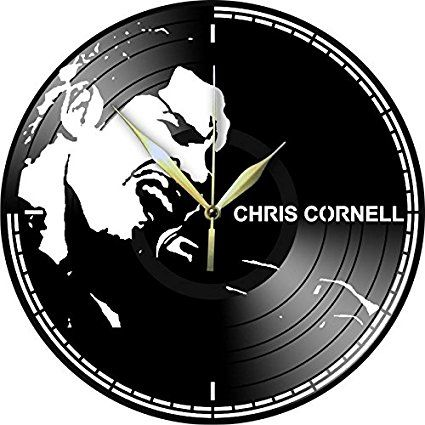 VINYL RECORD WALL CLOCK CHRIS CORNELL