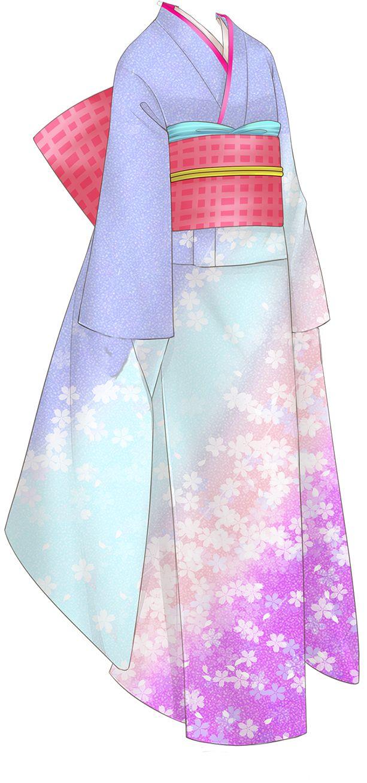 Anime kimono   I WANT ONE SO BAD!