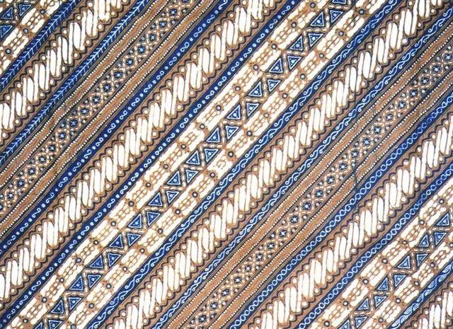 Gambar Batik Yogyakarta - motif Lereng