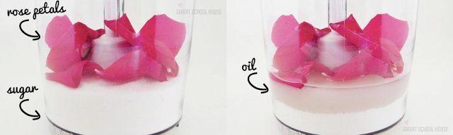 DIY - Como fazer esfoliante corporal caseiro de rosas