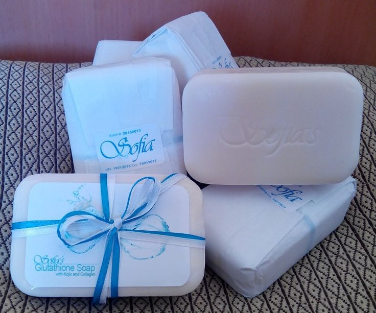 Sofia's Glutathione Soap with Kojic and Collagen 135mg available on WhateverBuys.com - FREE SHIPPING NATIONWIDE