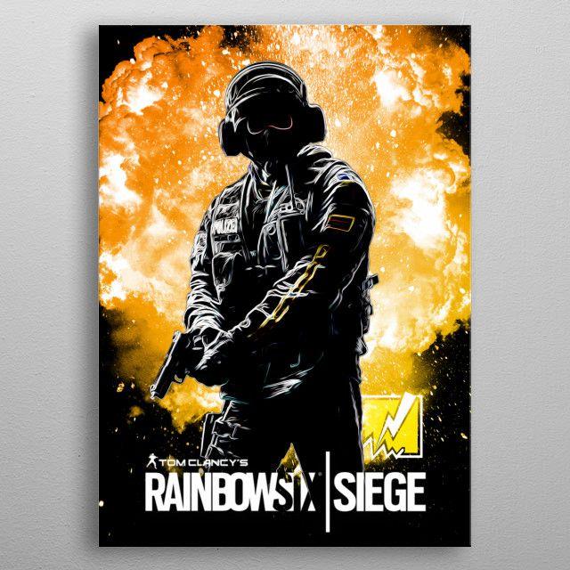 Rainbow Six Siege Bandit Poster Prints Fantasy Posters Rainbow
