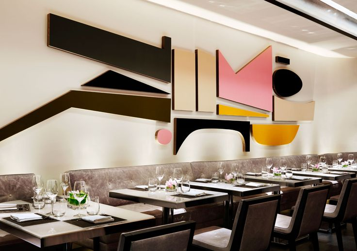 Hawksworth Restaurant, Vancouver. Interior design by Munge Leung.