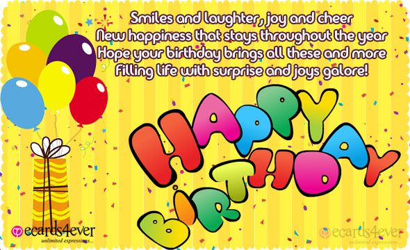 Compose Card - Birthday Wishes Cards, Free Birthday Wishes ...