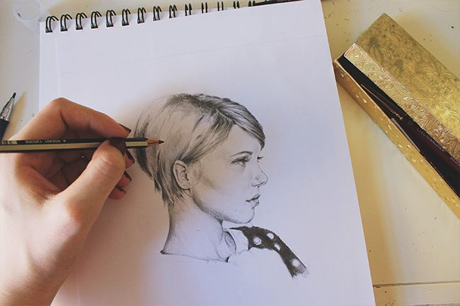 Passionate about drawing? Try these 3 simple steps to improve your portrait drawings by capturing the beauty, emotion & detail of the human face.