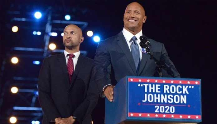 The famous Hollywood star Dwayne Johnson Presidential campaign announced. He made the revelation during the Saturday Night Live show.