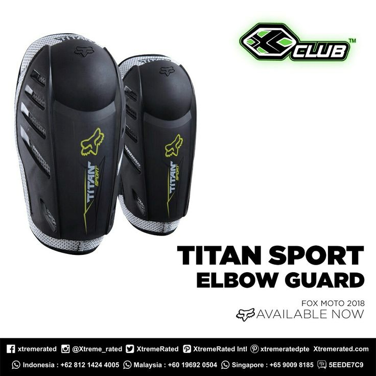 With soft bio-foam core ensures a comfortable ride | FOX titan sport elbow guards | Grab it fast in the nearest Xclub Stores | https://t.co/s9rKMvwqO6  Visit Our Stores  #xtremerated #xclub #foxracing #foxmoto #fox_xclub #trailadventure #mtma #trailindonesiaadventure #mytrailmyadventure