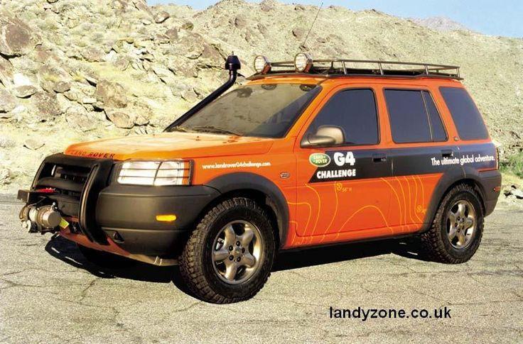 Land Rover Freelander G4 Challenge